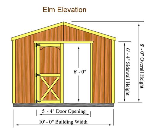 Shed Kit Elevation