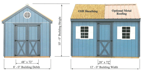 Shed Kit Cross Section
