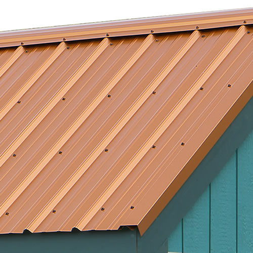 Regency pre-cut metal roof