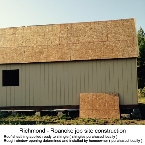 Best Barns Richmond - Roanoke shed kit