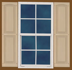 Shed Kit Single Hung Window