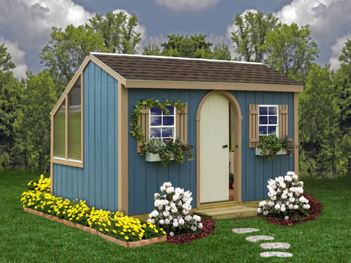 Clairmont 12 Wide Shed Kit