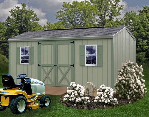 Cypress 10x16 shed kit