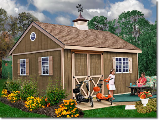 New Castle 12' Deep Shed Kit