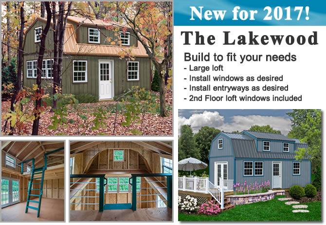 sentry buildings lakewood shed kit
