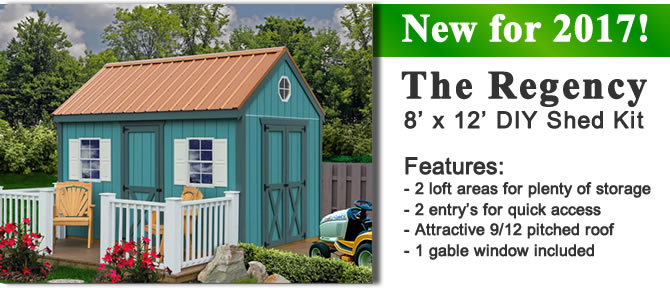 regency shed kit